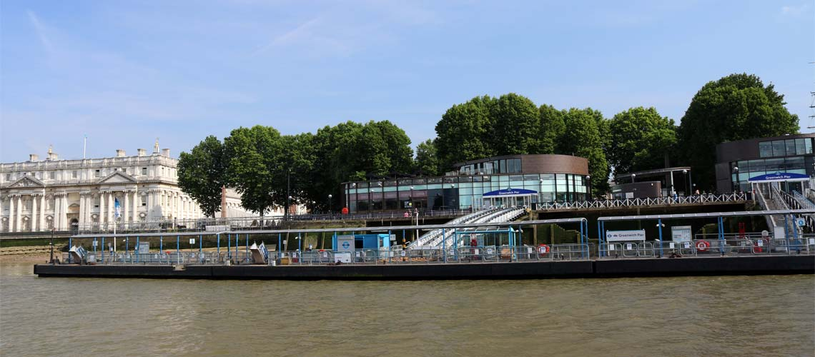 Charters & Cruises from Greenwich Pier | Viscount Cruises