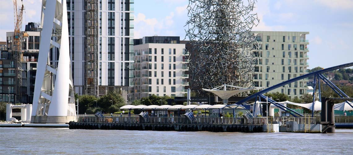 Charters & Cruises from North Greenwich Pier | Viscount Cruises