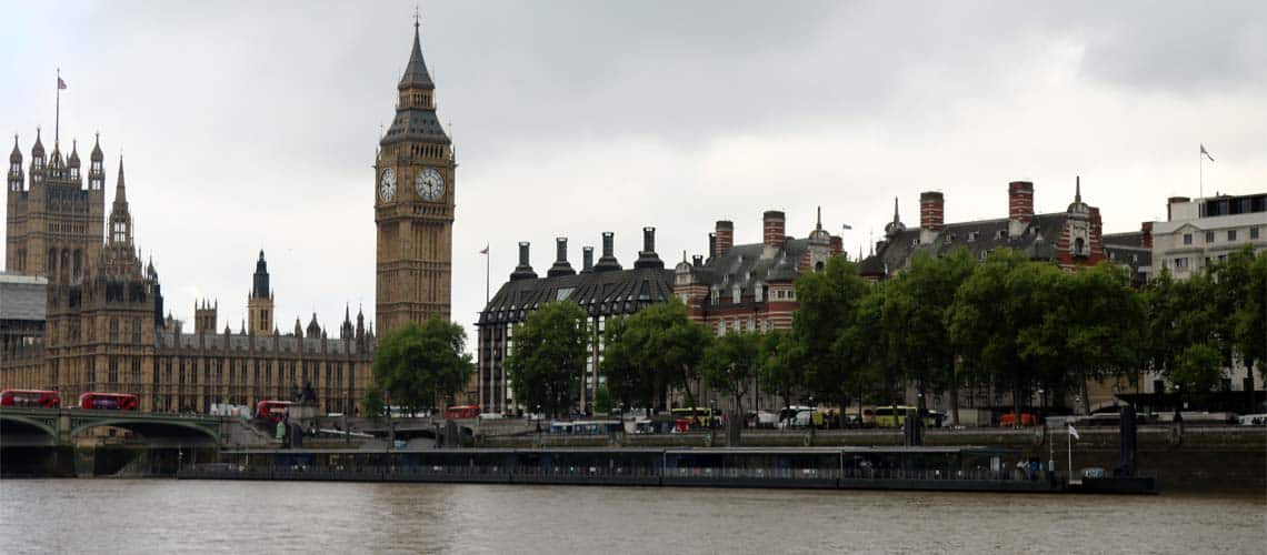 Charters & Cruises from Westminster Pier | Viscount Cruises