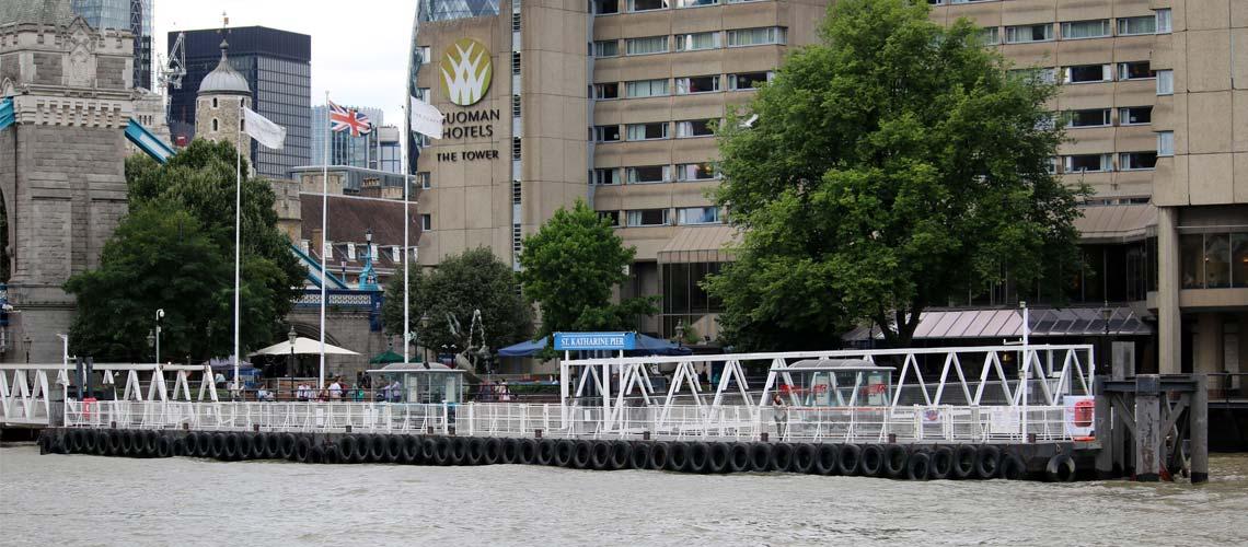 St. Katharine Pier | Viscount Cruises