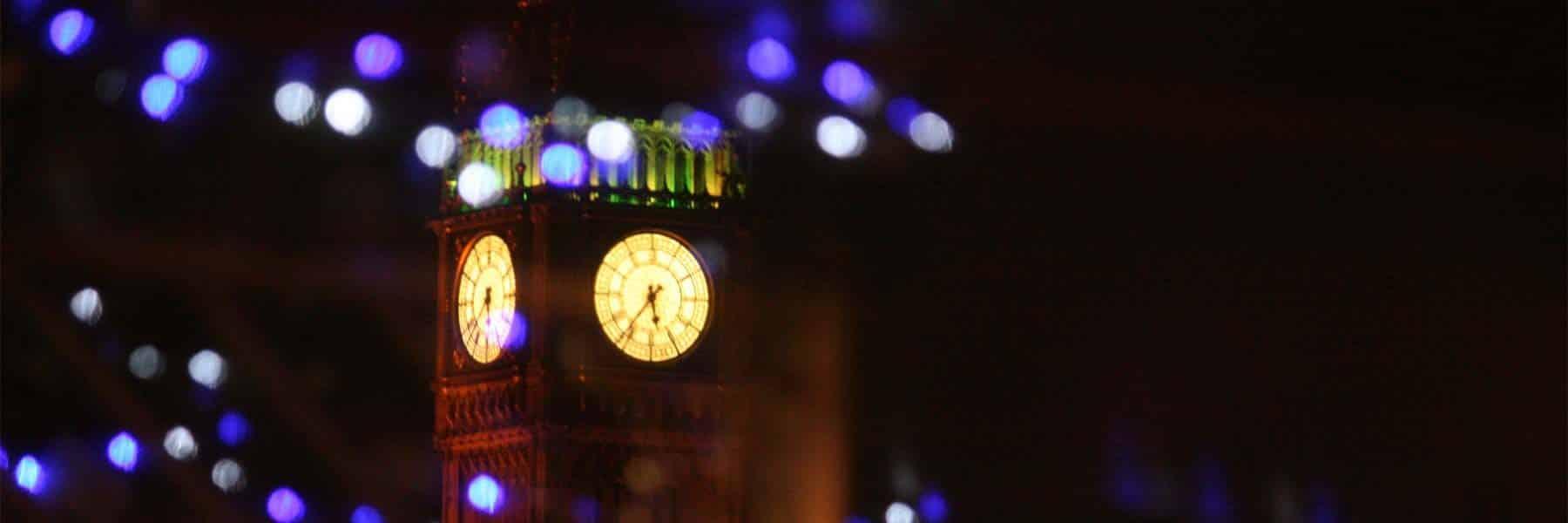 London Christmas Cruises