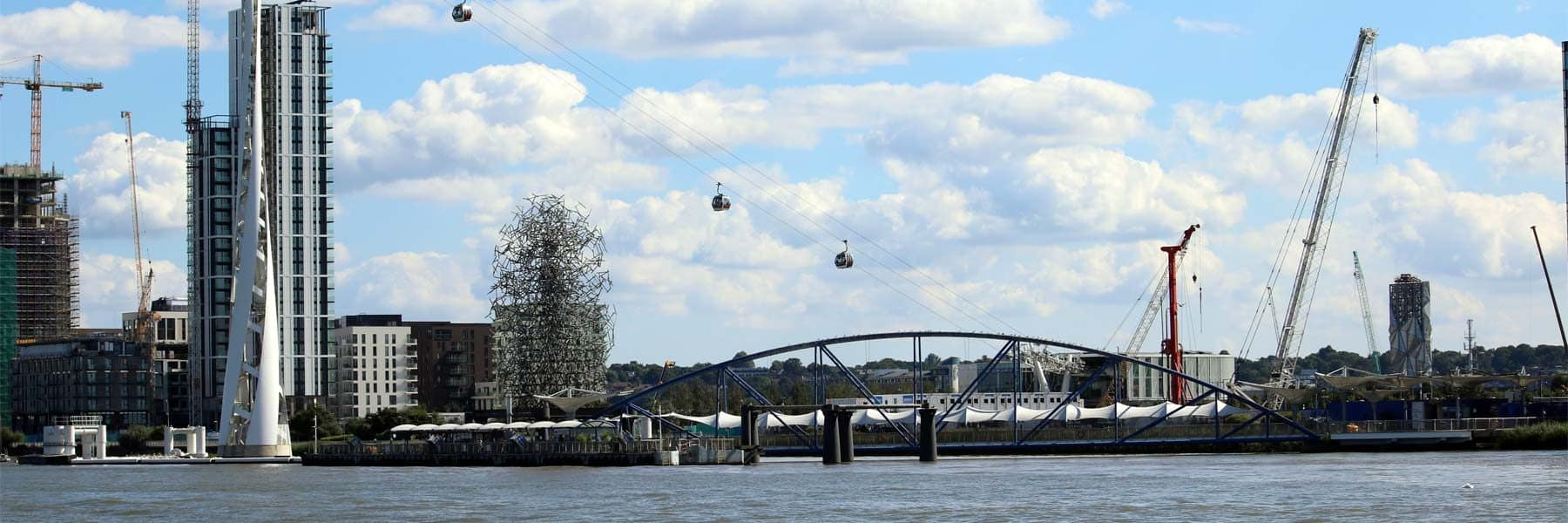 Emirates Airline Cable Car & North Greenwich