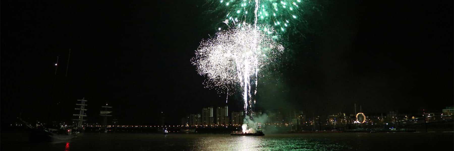 Tall Ships Fireworks Display